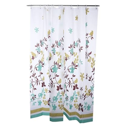 Picture of Waterproof Bathroom Shower Curtain (180 x 180cm)
