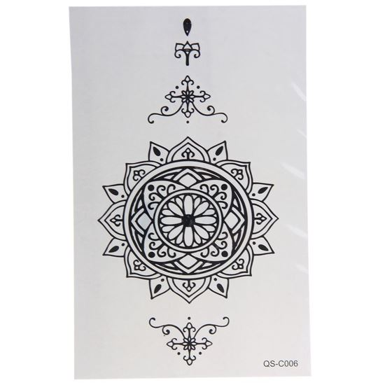 Picture of 3D Individuality Design Waterproof Temporary Tattoo Stickers