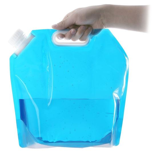 Picture of 5L Foldable Bucket Outdoor Camping Hiking Survival Water Bottle