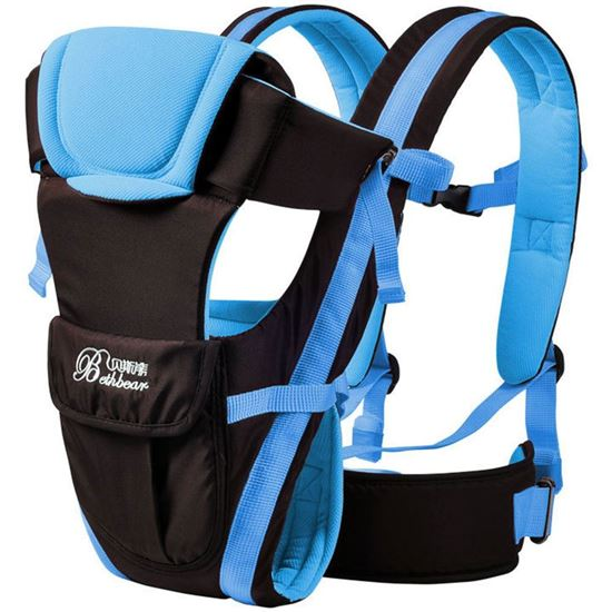 Picture of Bethbear Multipurpose Adjustable Buckle Mesh Wrap Baby Carrier Backpack