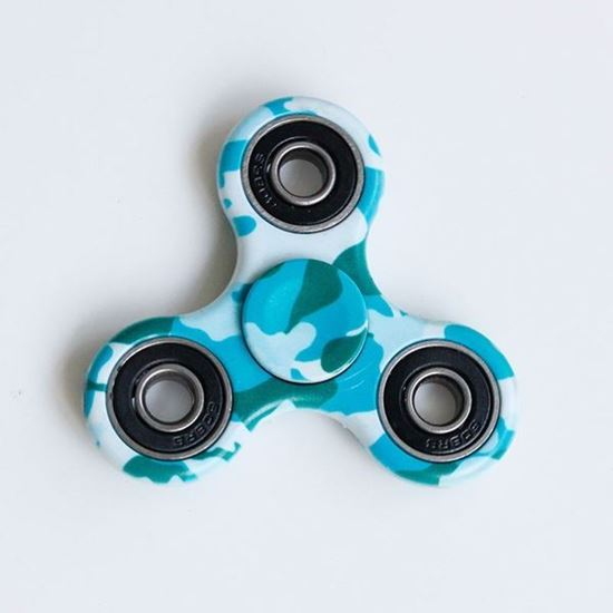 Picture of Camouflage Pattern Focus Toy Fidget Spinner