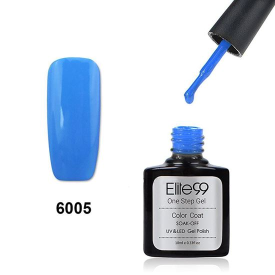 Picture of Elite99 60 Candy Colors Long-Lasting Varnish Top Coat Nail Polish 10ml - Blue