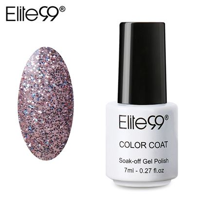 Picture of Elite99 Professional 7ml Colorful DIY UV Gel Curing Lamp Nail Polish - Light Purple