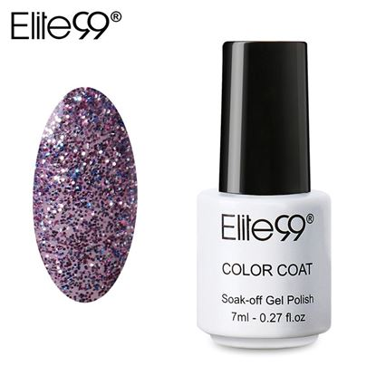 Picture of Elite99 Professional 7ml Colorful DIY UV Gel Curing Lamp Nail Polish - Dark Purple