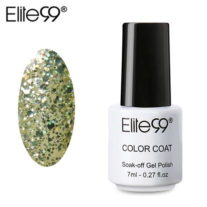 Picture of Elite99 Professional 7ml Colorful DIY UV Gel Curing Lamp Nail Polish - Light Green