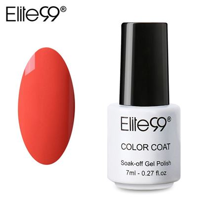 Picture of Elite99 Professional 7ml Colorful DIY UV Gel Curing Lamp Nail Polish - Orange
