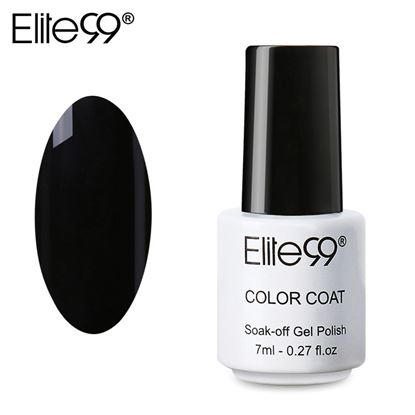Picture of Elite99 Professional 7ml Colorful DIY UV Gel Curing Lamp Nail Polish - Black