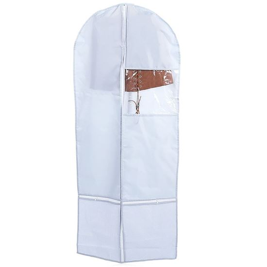 Picture of Foldable Wardrobe Hanging Garment Cover Case Dust-proof Storage Bag Protector