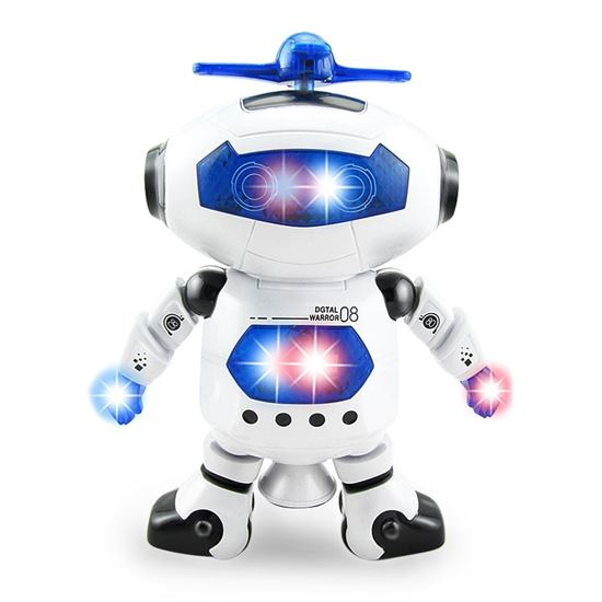 Picture of Kids Electronic Walking Dancing Robot with Music Light Fun Toy