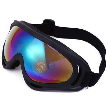 Picture of Robesbon Non-polarized Sports Running Outdoor Cycling Motocross Goggles UV400 Protection Sunglasses