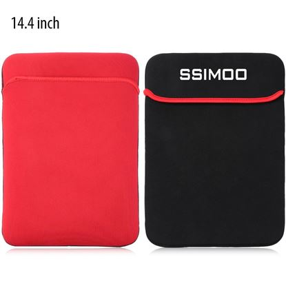 Picture of SSIMOO Shockproof Double-faced Foam Fabric Laptop Protective Bag Tablet Pouch Sleeve for MacBook / Surface Book 14.4 inch